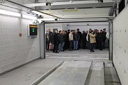Zahájení provozu parkovacího domu ve Slaném, 22. ledna 2013