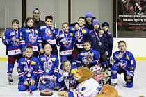 Úspěšný tým slánských Lvíčat z turnaje v České Lípě.