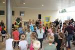 Ze slavnostního otevření mateřské školy v Unhošti.