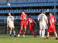 SK Kladno - FK Králův Dvůr 0:2, příprava, 27. 7. 2018