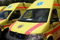 Vozy kladenské záchranky