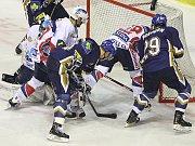 Rytíři Kladno - HC Pardubice, 49. kolo ELH 2011-12, hráné 17.2.12. Michal Lukáč 3 : 2