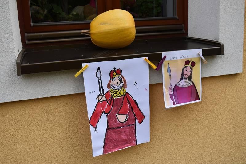 Svatý Václav a svatá Ludmila ve Vraném.