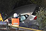Tragická úterní nehoda u obce Hleďsebe, 3. října 2017