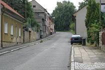 Flaškářská ulice ve Slaném