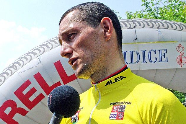 Nejlepší muž Lidic 2008 René Andrle.