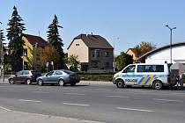 V Kladně se srazila dvě auta.