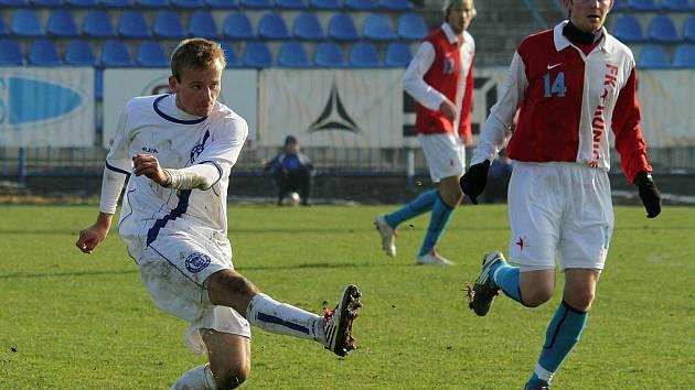 Jan Čurda a Jakub Balšánek //  SK Kladno -  Kunice  2:2 (1:0) , utkání 14.k. CFL. ligy 2011/12, hráno 12:11.2011