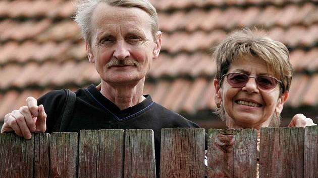 Viktor a Jarmila Stříbrných