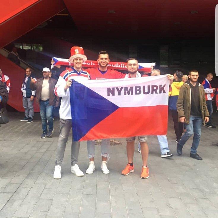Honza a dva Lukášové na stadionu Ondreja Nepela v Bratislavě!