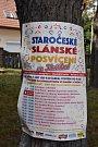 Ve Slaném-Kvíčku se v sobotu u sokolovny konalo Slánské posvícení.