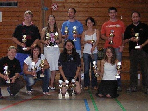Badmintonisté Kladna v Německu chvílemi dominovali.