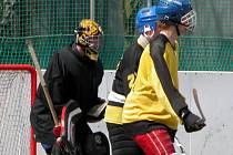 Torpedu se nasazování mladíků vyplácí, tady je v akci Radek Lhotka (vpravo).