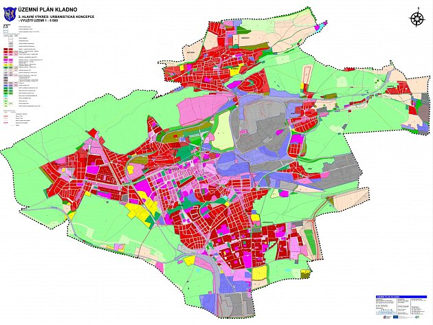 Město Kladno má územní plán.