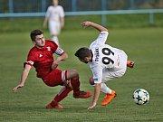 TJ sportovní klub Hřebeč - Baník Libušín 0:1 (0:0), I. A. tř., 28. 4. 2018