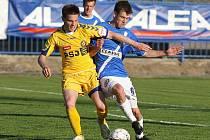 Vpravo Marek Tóth //SK Kladno - FC Vysočina Jihlava  1:2(0:1) , utkání 24.k. 2. ligy 2010/11, hráno 1.5.2011