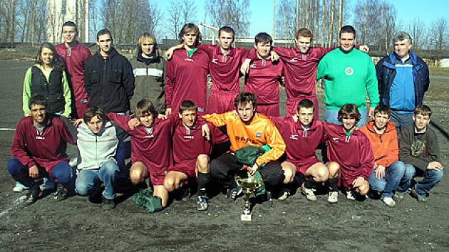 Sokol Hostouň,  vítěz prvního ročníku dorosteneckého turnaje o  Pohár starostky Stochova.