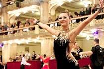 Tanečnice Evženie Olarová z Velké Dobré