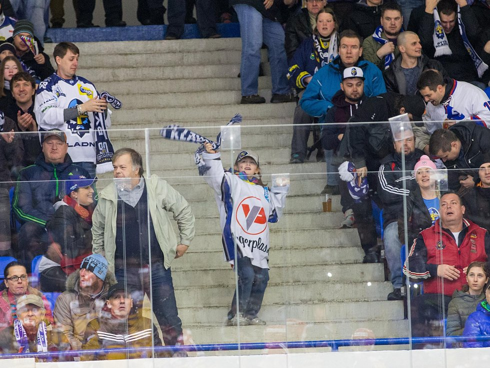 Kladno - Jihlava, čtvrtý zápas play off