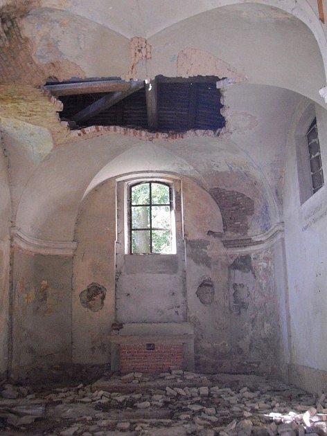 Zámecká kaple v Kolči.