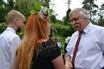 Hornický skanzen dolu Mayrau ve Vinařicích hostit vůbec první svatební obřad ve své historii.