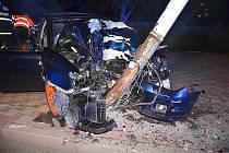 Jedna z nehod, které se letos staly přímo v Kladně.