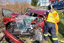 Tragická čtvrteční nehoda u Smečna