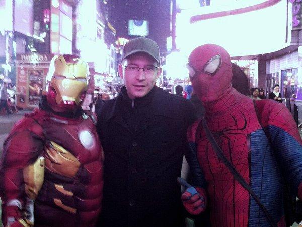 Vít Heral, Spiderman a Iron Man. Spiderman znal Kladno, Jágra a před měsícem byl vPraze na dovolené.