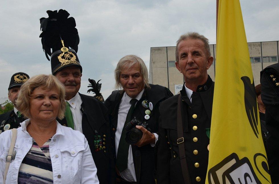 Dycky horník! Ze setkání hornických měst a obcí v Mostě.