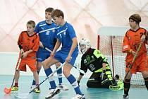 Jedním ze sportů, které mohou žádat o granty, je také florbal.
