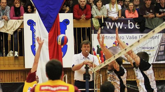 Brownhouse Volleyball.cz Kladno - Dukla Liberec 3:0 , 6. finalový zápas Vol. Kooperativa elh mužů 2009/10, hráno 6.5.2010 - Kladno je mistrem ligy pro sezonu 2009/10 (serie 4:2)