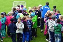 Měsíc náborů se jmenuje akce Středočeského fotbalového svazu, která se v úterý odehrála s velkým úspěchem také na hřišti SK Kladno.