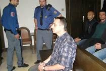 Trenér při listopadovém soudním líčení.