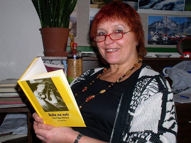 Spisovatelka a pedagožka Olga Fikrlová by se po třech básnických sbírkách chtěla věnovat próze.