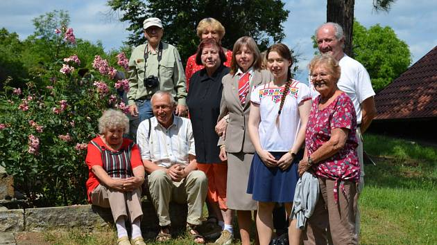 Sokolové se vydali na výlet na Berounsko.