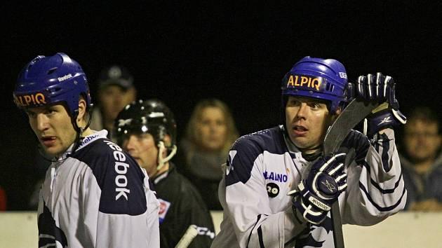 Radim Štěpáník a Daniel Hnízdil i v závěrečných duelech hodně bodovali, Alpiq i díky jejich výkonům vyhrál oba duely.