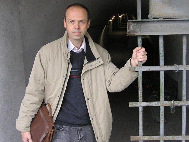 Petr Drnec - jednatel společnosti, která nyní obrovský kryt vlastní.