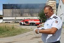 Vyšetřovatel příčin požárů HZS Libor Pospíšil