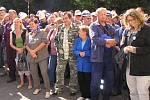 Hodinová stávka zaměstnanců Poldi, kteří nedostávají včas své mzdy.