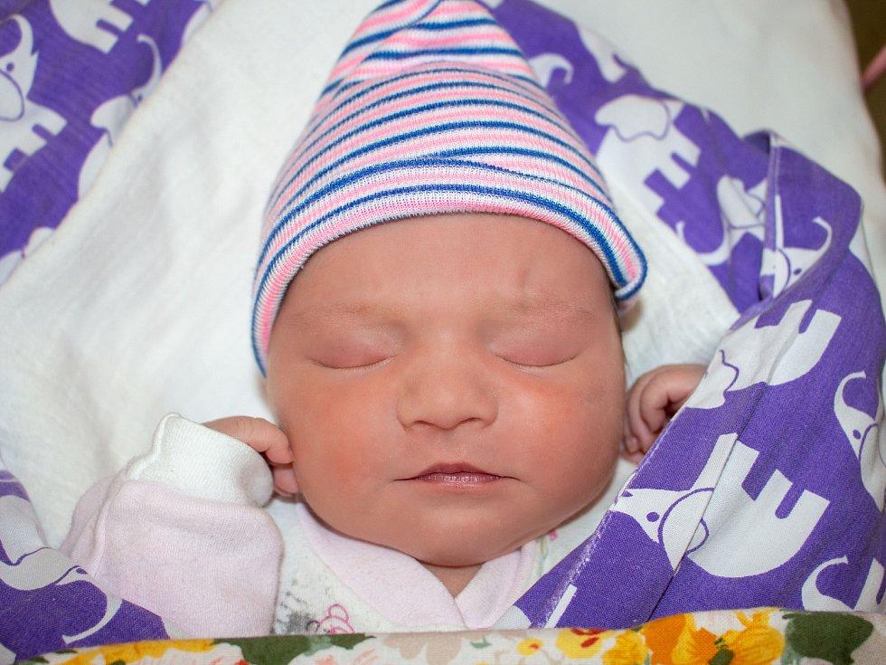LILY HUBÁČKOVÁ, LIBOVICE. Narodila se 22. listopadu 2019. Po porodu vážila 3,66 kg a měřila 50 cm. Rodiče jsou Petra Hubáčková a Pavel Matzek. (porodnice Slaný)