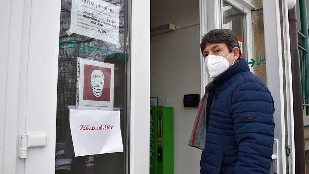 Ředitel nemocnice ve Slaném Štěpán Votoček.
