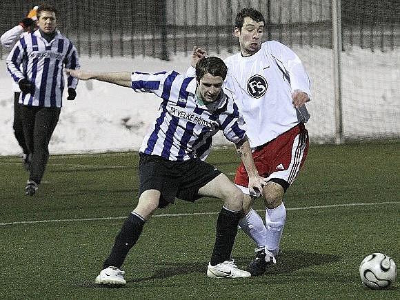 Sokol Lidice -  SK V. Přítočno 0:1 (0:1), přípravné fotbalové utkání, UT Kladno 6.2.2010