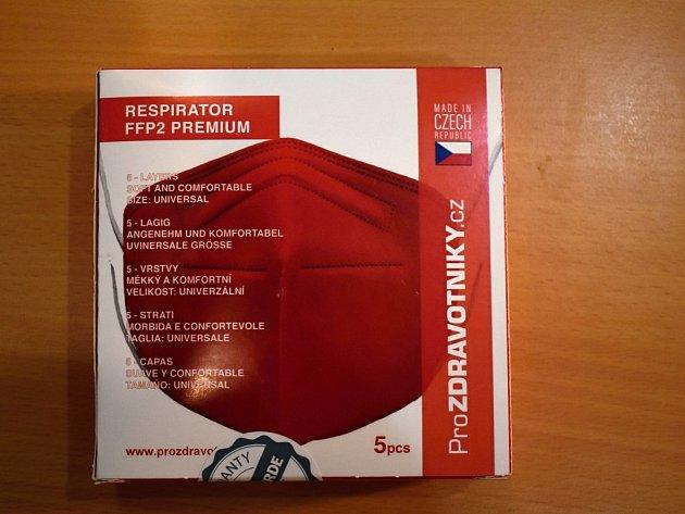 Respirátor FFP2 Premium