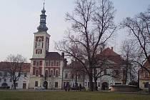 Město Slaný - Masarykovo náměstí