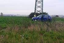 Nehoda s vážným zraněním u Stehelčevsi