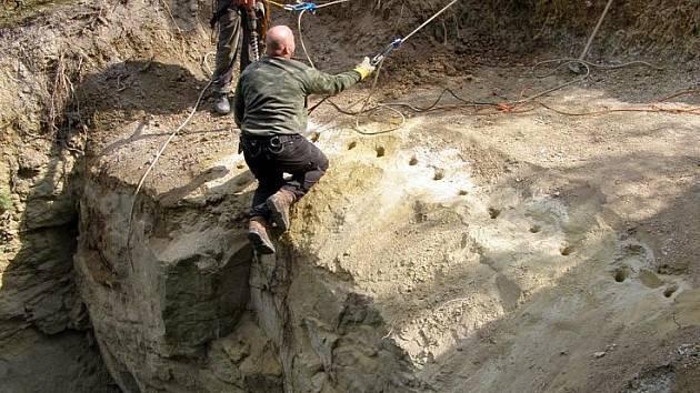 Podzemní prostory v Kladně-Švermově jsou dědictvím po těžbě písku, která zde byla ukončena v sedmdesátých letech minulého století.