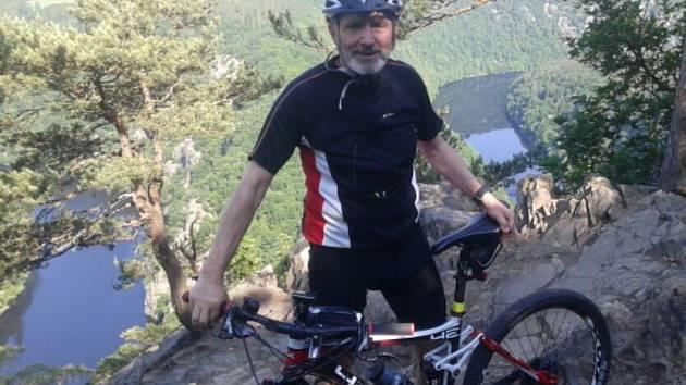 Vyhlídka Máj nad Vltavou. Jeden z loňských vrcholů.