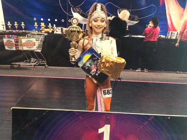 Terezka Torová zde tančila úchvatně a obhájila titul mistryně České republiky.
