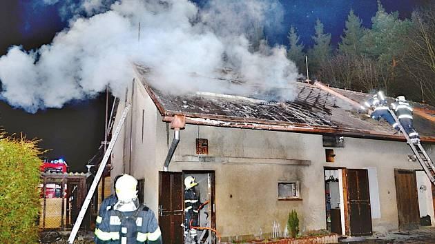 Plameny způsobily škodu za 150 tisíc korun.