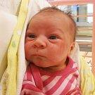 PETRA BALÁŽOVÁ, PLCHOV. Narodila se 9. května. Váha 3,05 kg, míra 50 cm. Rodiče jsou Kamila Mikudíková a Pavel Baláž (porodnice Slaný)